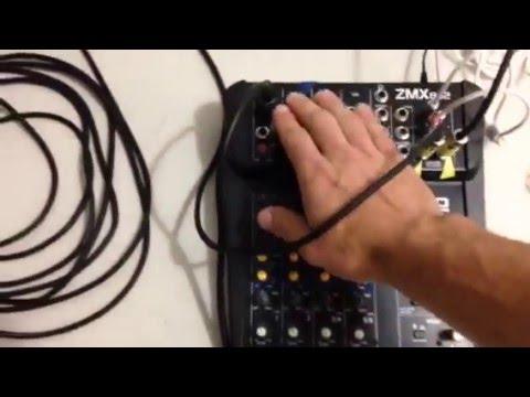 How to setup two powered 15