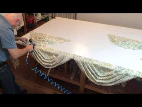 How To Mount Multiple Swags To A Board