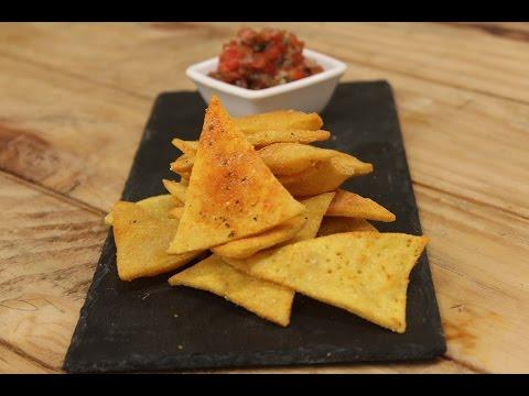 Nacho Chips With Tomato Salsa | Majha Kitchen | Sanjeev Kapoor Khazana