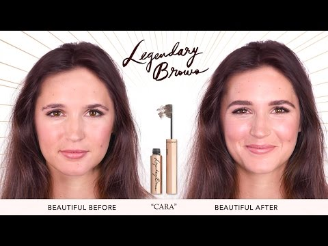 How To: Eyebrows Tutorial For Uneven Brows   Charlotte Tilbury