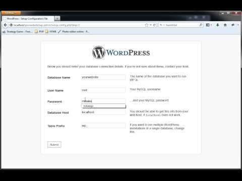 How to install Wordpress on WAMP - Simple and Fast