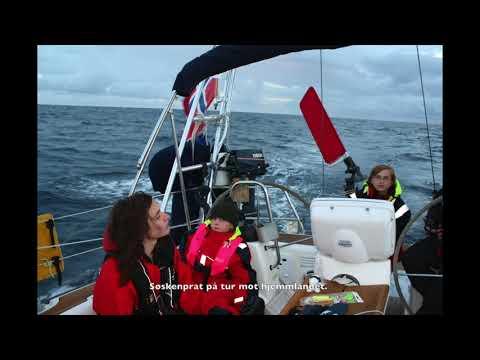Sailing Norway-Shetland 2