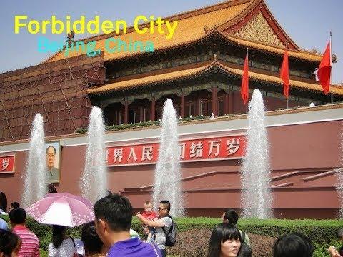Forbidden City Tour, Beijing, China - Travel Vlog001