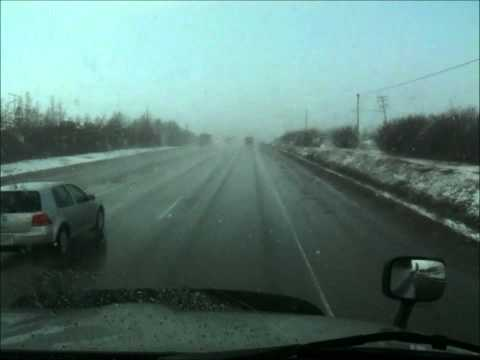 Extremely Fast Changing Road Conditions