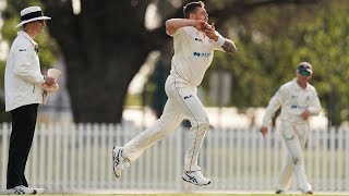 Pattinson turns to off-spin on lifeless Junction Oval road
