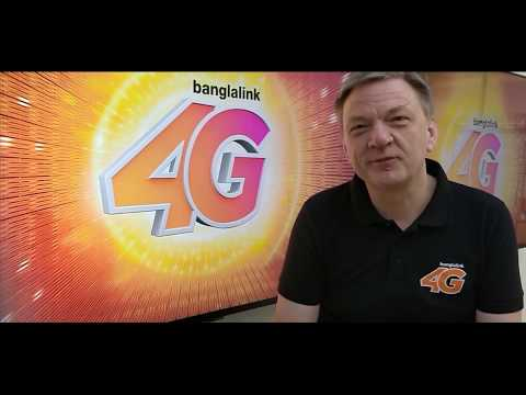 Banglalink's CEO Erik's message for 4G launch in Bangladesh
