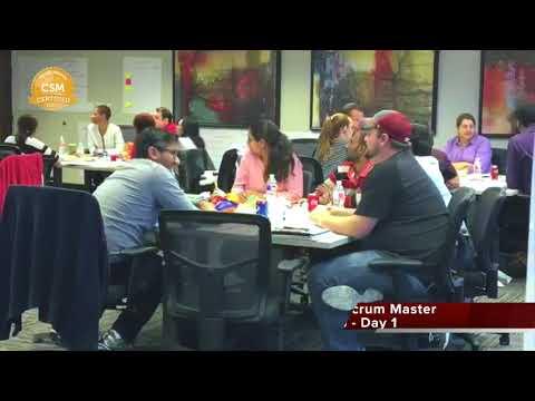 Certified Scrum Master Workshop Day 1  - Dallas Texas