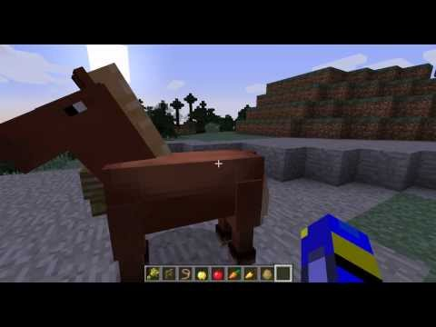 how to breed a horse in minecraft in 1.7.2