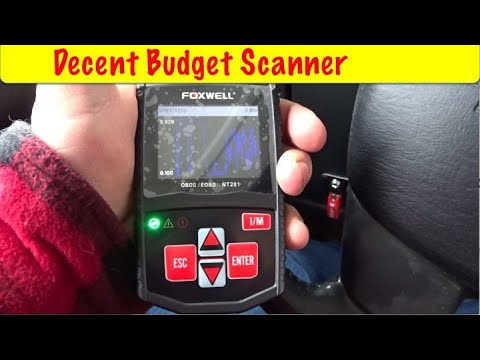 Foxwell NT201 OBDII Scanner Review