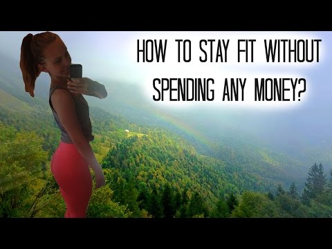 How To Stay Fit Without Spending Any Money? // MY ROUTINE