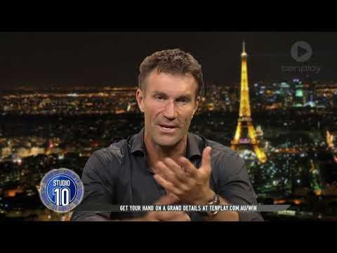 Tennis Legend Pat Cash Talks French Open, Career & More | Studio 10