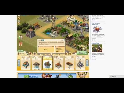 Me Earning Free City of Wonder Gold on Facebook - Part 1