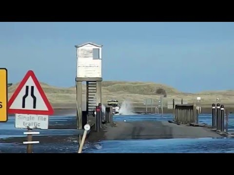 dangerous crossing Holy Island