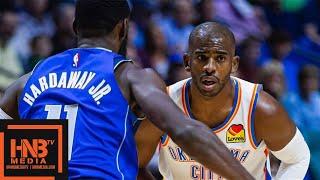 Dallas Mavericks vs Oklahoma City Thunder - Full Game Highlights | October 8, 2019 NBA Preseason