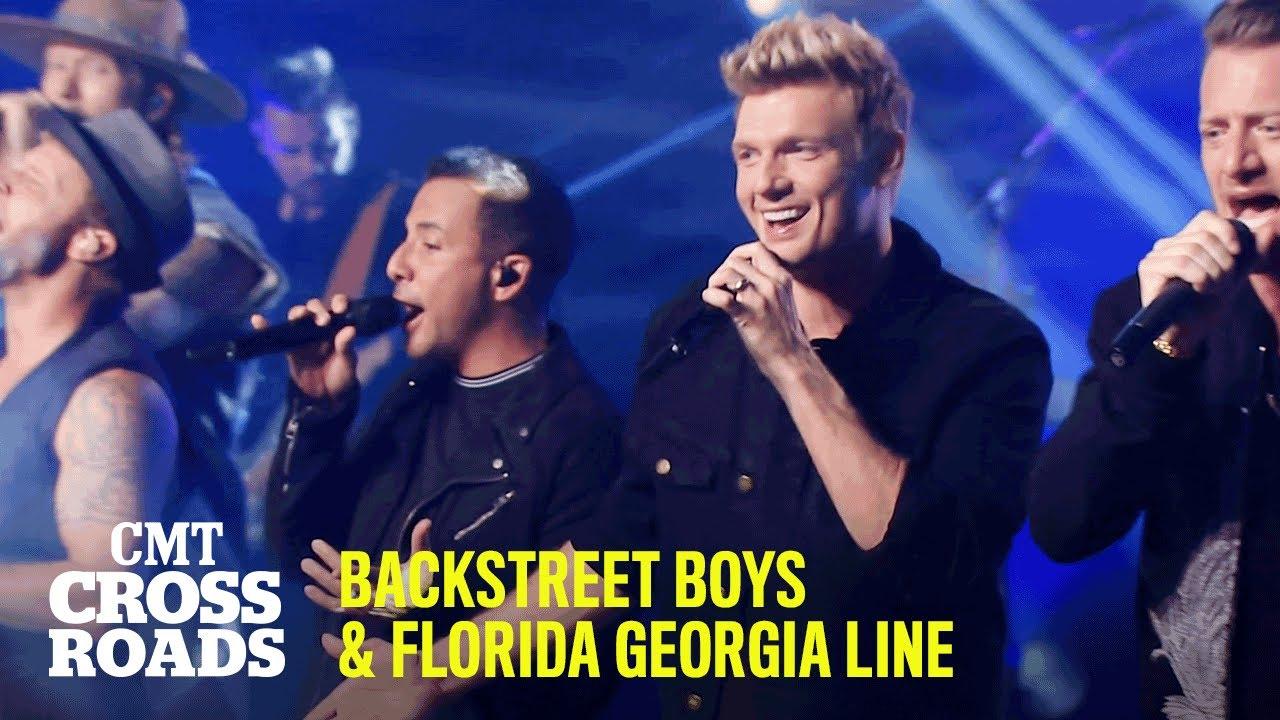 "Backstreet Boys & Florida Georgia Line Perform ""I Want It That Way"" | CMT Crossroads"