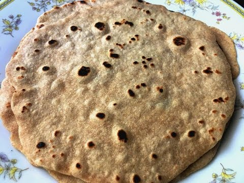 Soft Chapati Roti Recipe without Oil or Butter Homemade (Healthy)