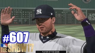 DIVISION SERIES AGAINST THE RED SOX! | MLB The Show 17 | Road to the Show #607
