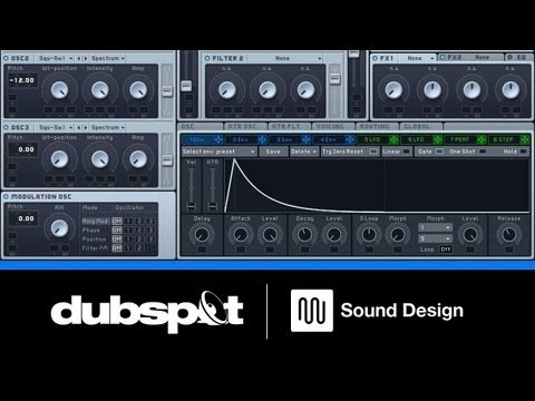 Sound Design Tutorial: Creating Synth Leads Using 'Sync Modulation' in Native Instruments Massive