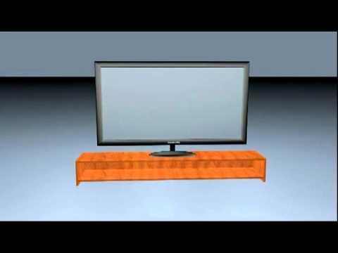 LCD-TV Cinema 4D Model (Download)