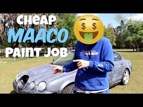 Why Everyone HATES Cheap Maaco Paint Jobs... BUT Shouldn't!