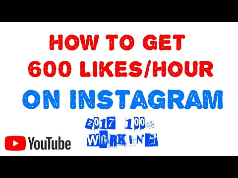 How to get thousands of likes on Instagram | 1000% #Working No Lies | 2017 Best way | Instagram