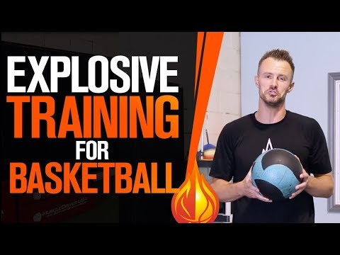EXPLOSIVE Medicine Ball Training For Basketball with Coach Alan Stein
