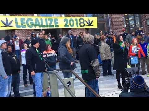 Michigan attorney general candidate speaks at 2018 Hash Bash