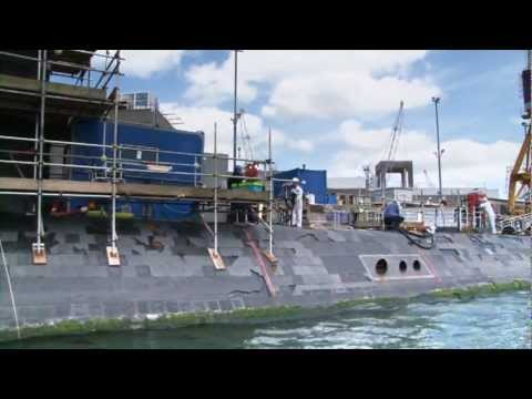 Devonport nuclear submarine dismantling project