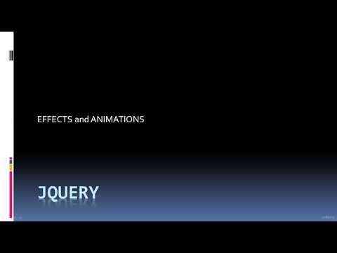 Hide and Show Page Sections in JQuery