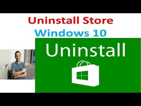 How to Remove  windows Store  -  Windows 10