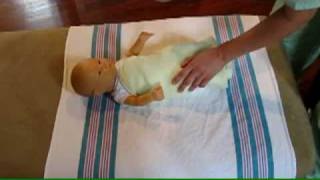 How To Easily And Safely Swaddle A Baby Newborn Care Tips