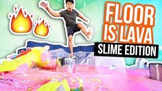 THE FLOOR IS LAVA SLIME! (Slime Edition)