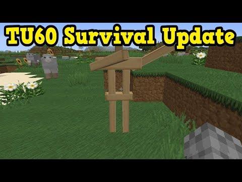 Minecraft Xbox 360 / PS4 TU60 Features - SURVIVAL UPDATE