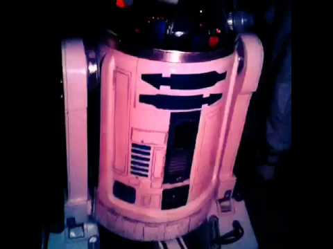 BEST Homemade R2-D2 Costume EVER