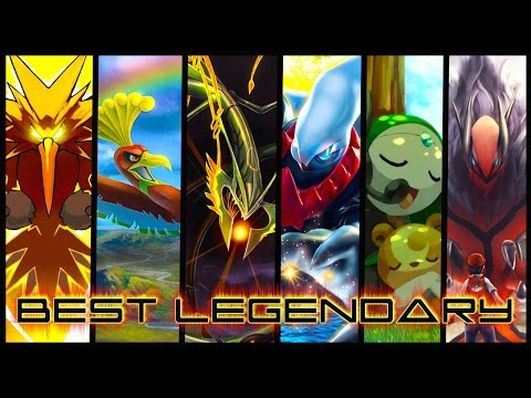 Which Legendary Pokemon is the Best?!