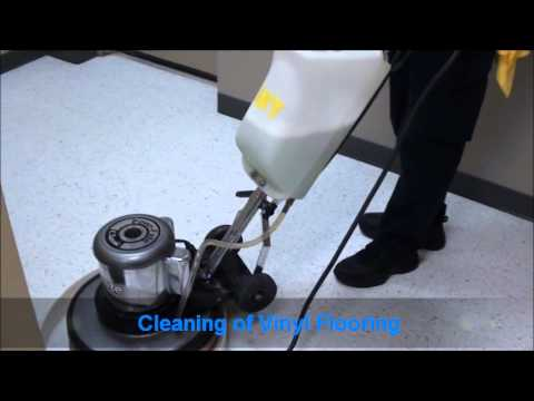 Wiz Team, Inc. | Vinyl Floor Cleaning and Buffing