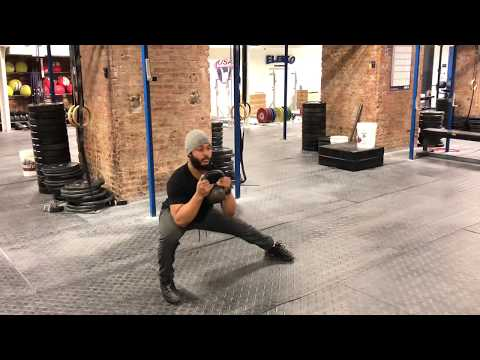 SQUAT MOBILITY EXERCISES | How To Do a Cossack Slide/Squat with Bodyweight or Kettlebells