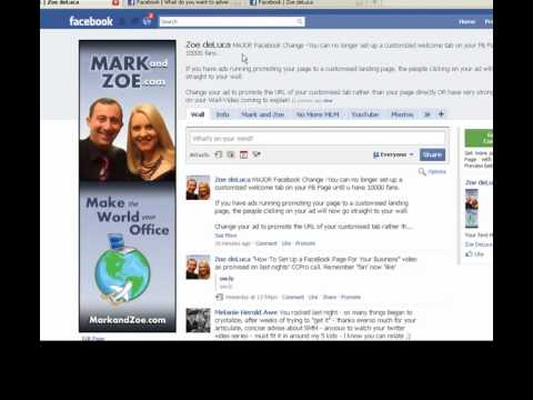 MAJOR CHANGE TO FACEBOOK PAGES -{Why Is My Custom Landing Page Tab Not Working on Facebook}