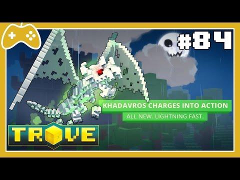 Trove #84 - Mostrando todas as etapas e recompensas do Bone Dragon!