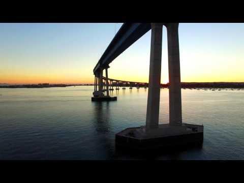 4K Flight of the Week - Coronado Bridge, San Diego, California
