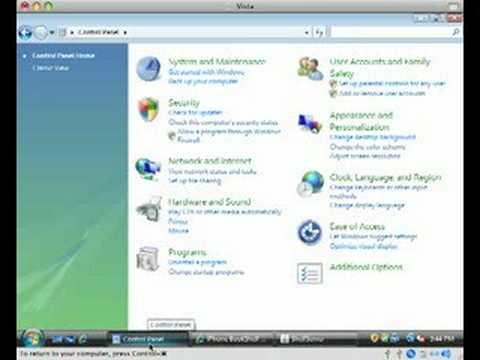ShelfServer with Windows Vista Firewall
