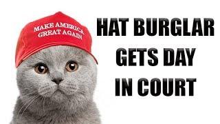 Hat Burglar Gets Day in Court