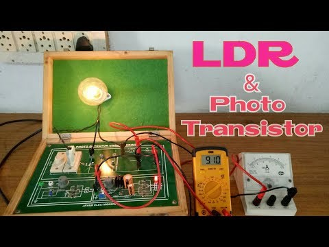 How to Working LDR Practical Experiments in Tamil