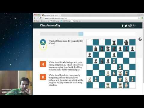 chess personality quiz