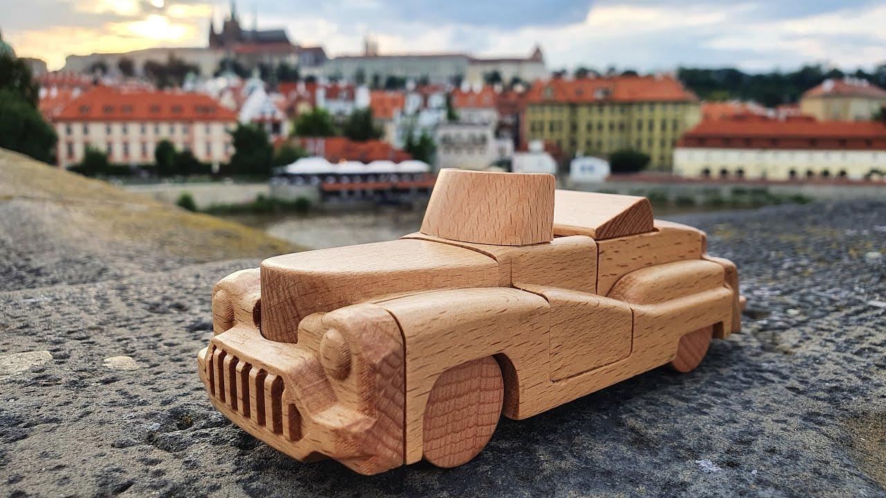 The Retro Kumiki Car puzzle.