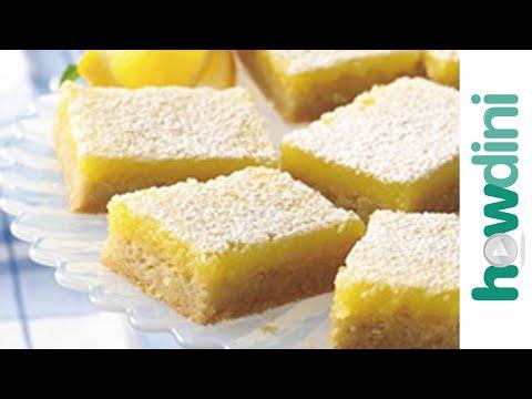 How to make lemon bars - An easy recipe