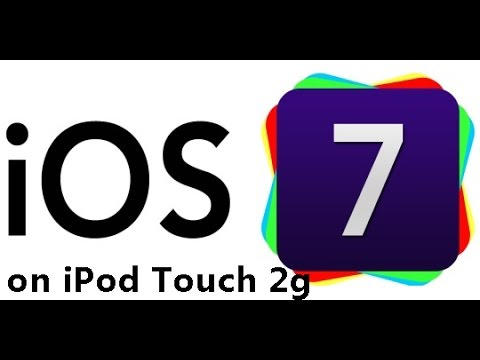 How to Get IOS 7 on iPod Touch 2g - AAA