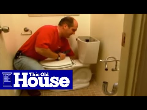 How to Install a New Toilet Flange - This Old House