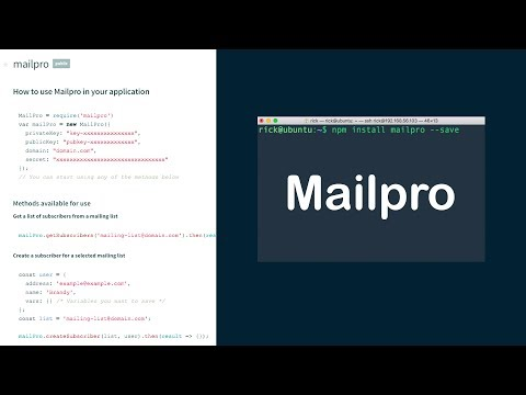 Mailpro Module – Sending email without the headache