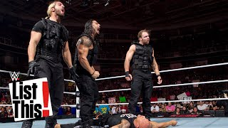 5 Legends The Shield eliminated: List This!